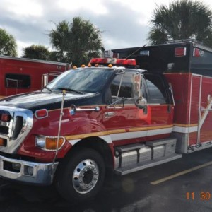 2009 Ford F-650 Crew Cab XLT Super Duty Rescue